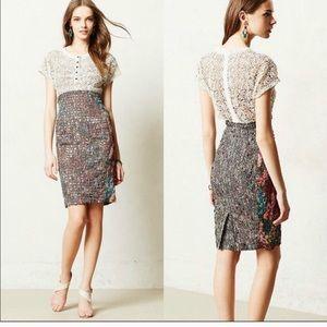 BEGUILE By BYRON LARS Study Dress Lace Sheath